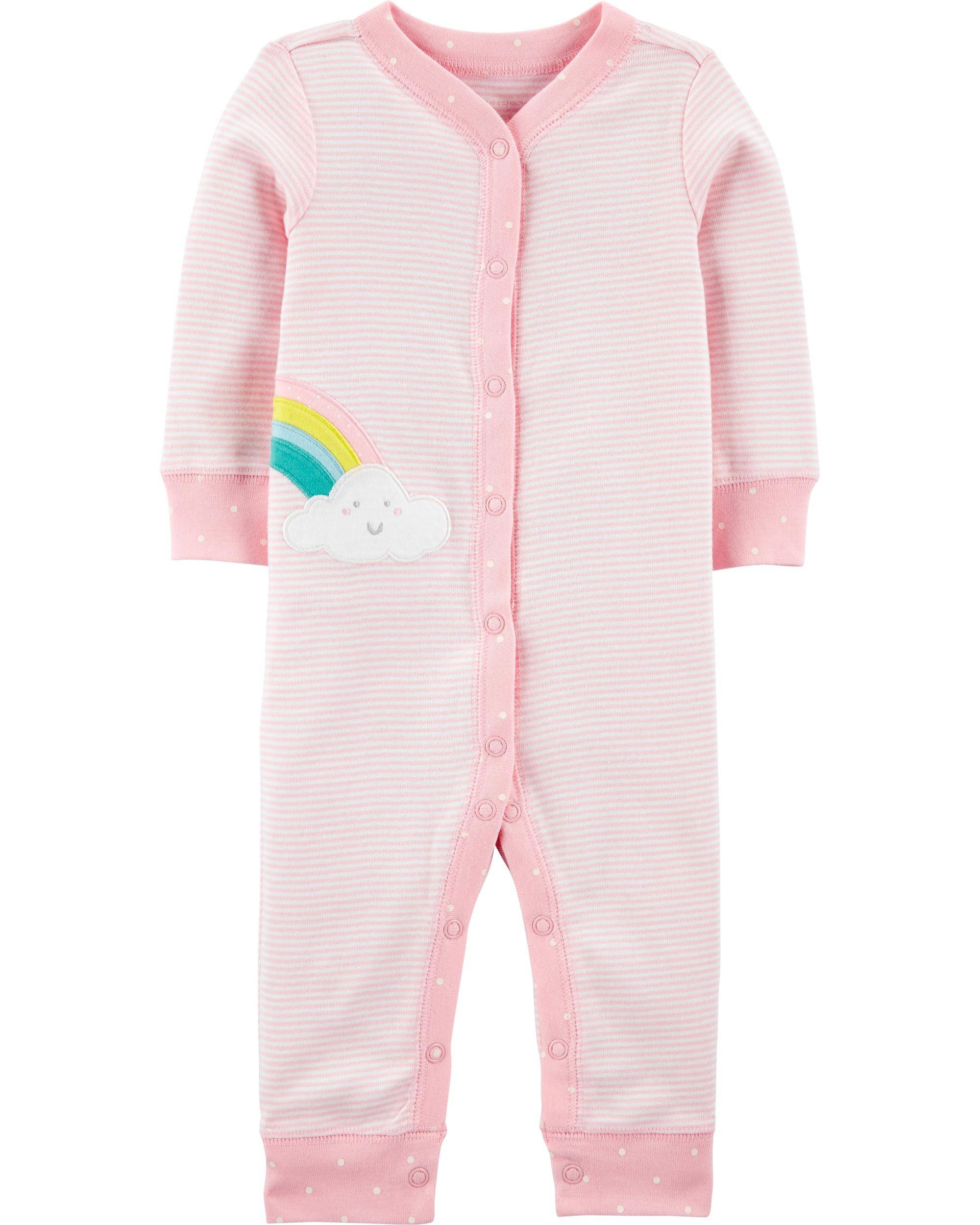 Carter's Pijama Curcubeu imagine