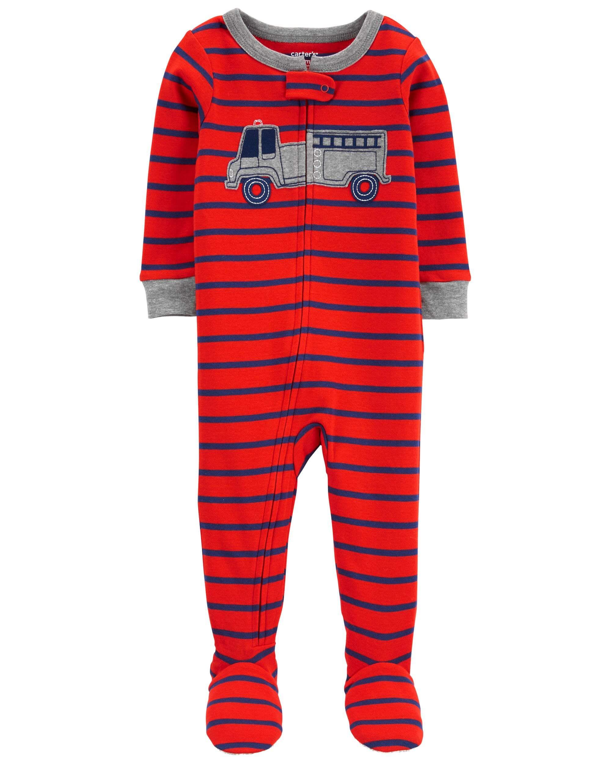 Carter's Pijama bebelus Masina de pompieri imagine