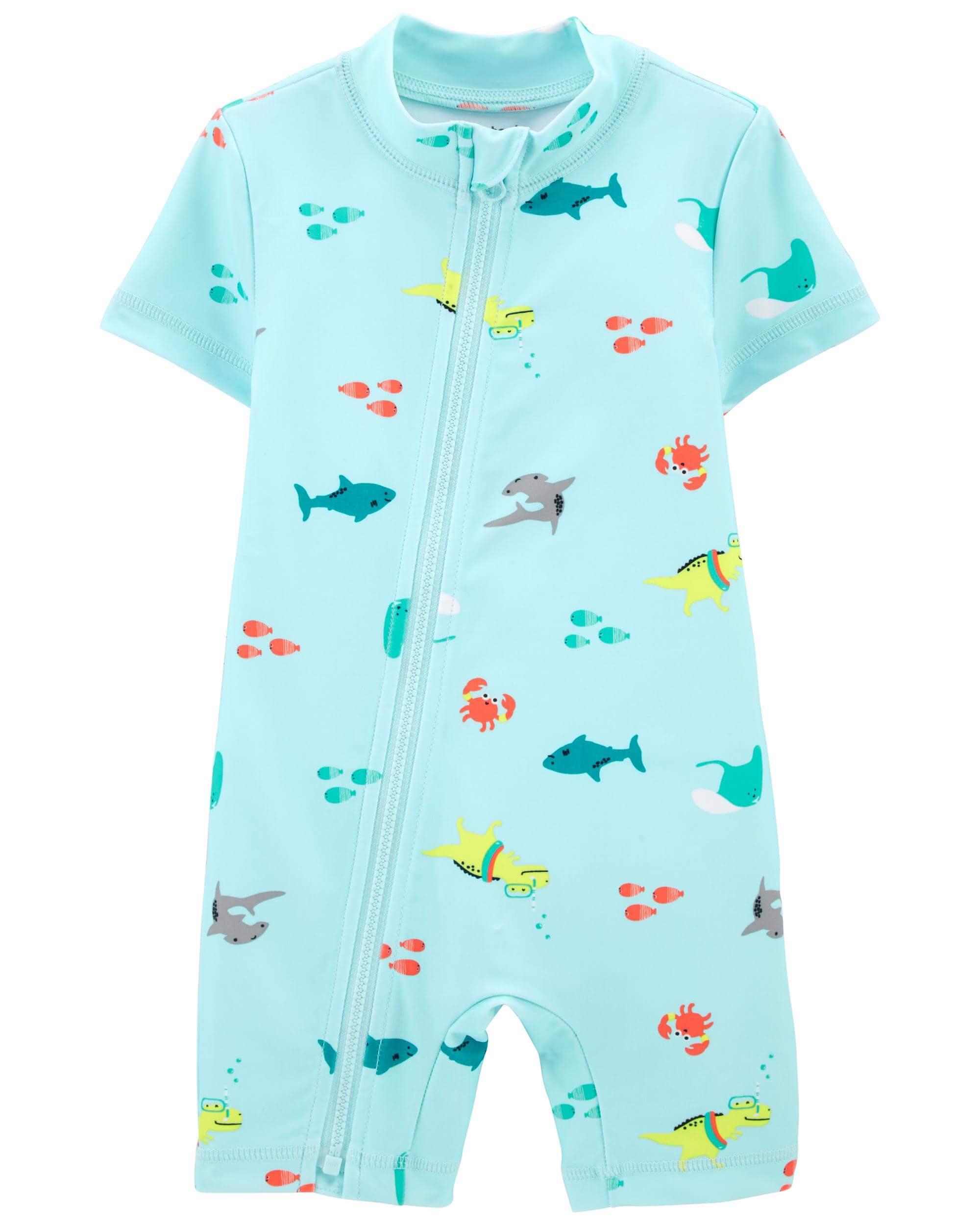 Carter's Costum de baie Rechin imagine