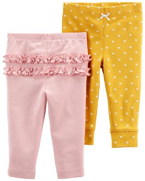 Carter's Set 2 piese pantaloni Inimioare