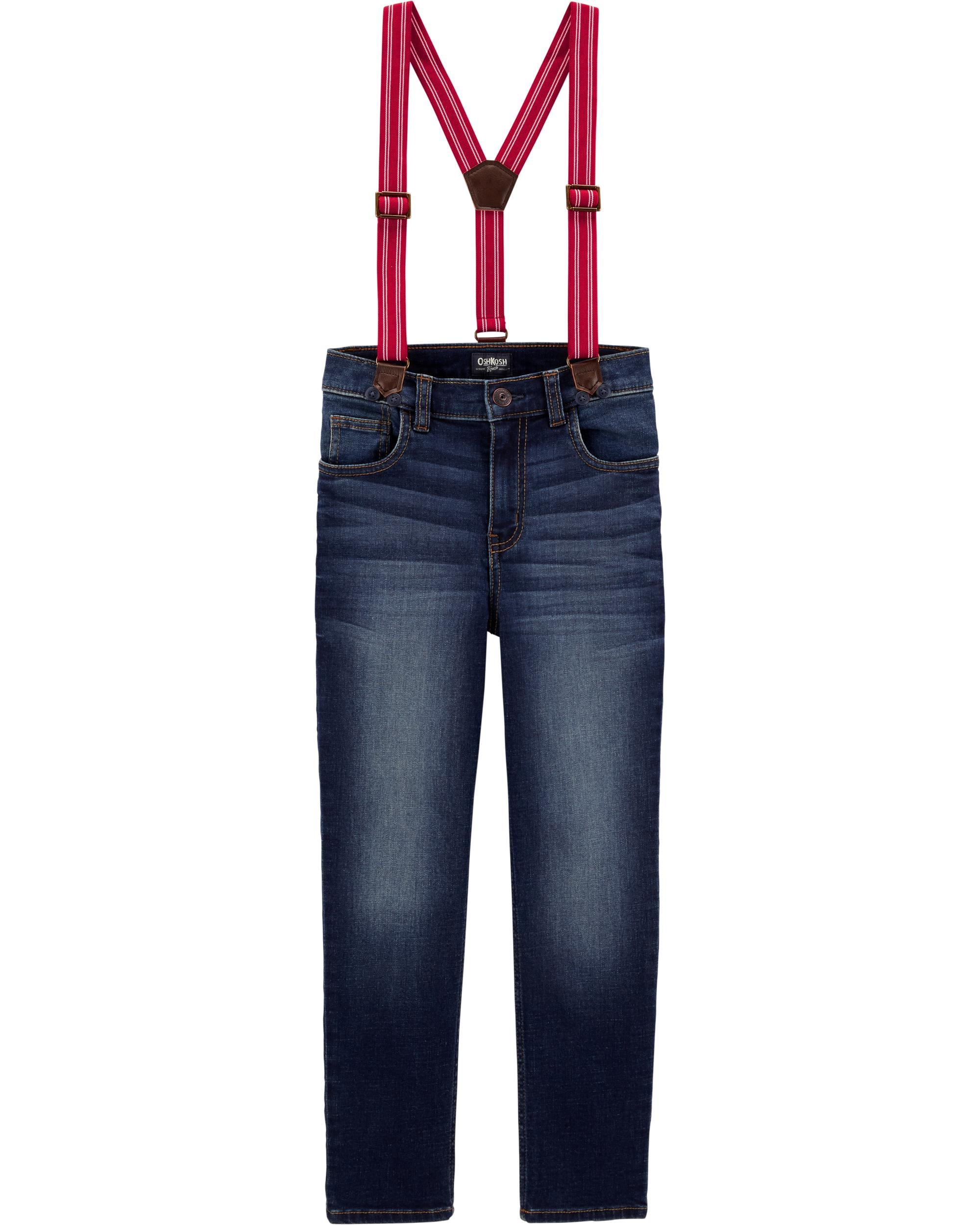 Oshkosh Jeans cu bretele imagine