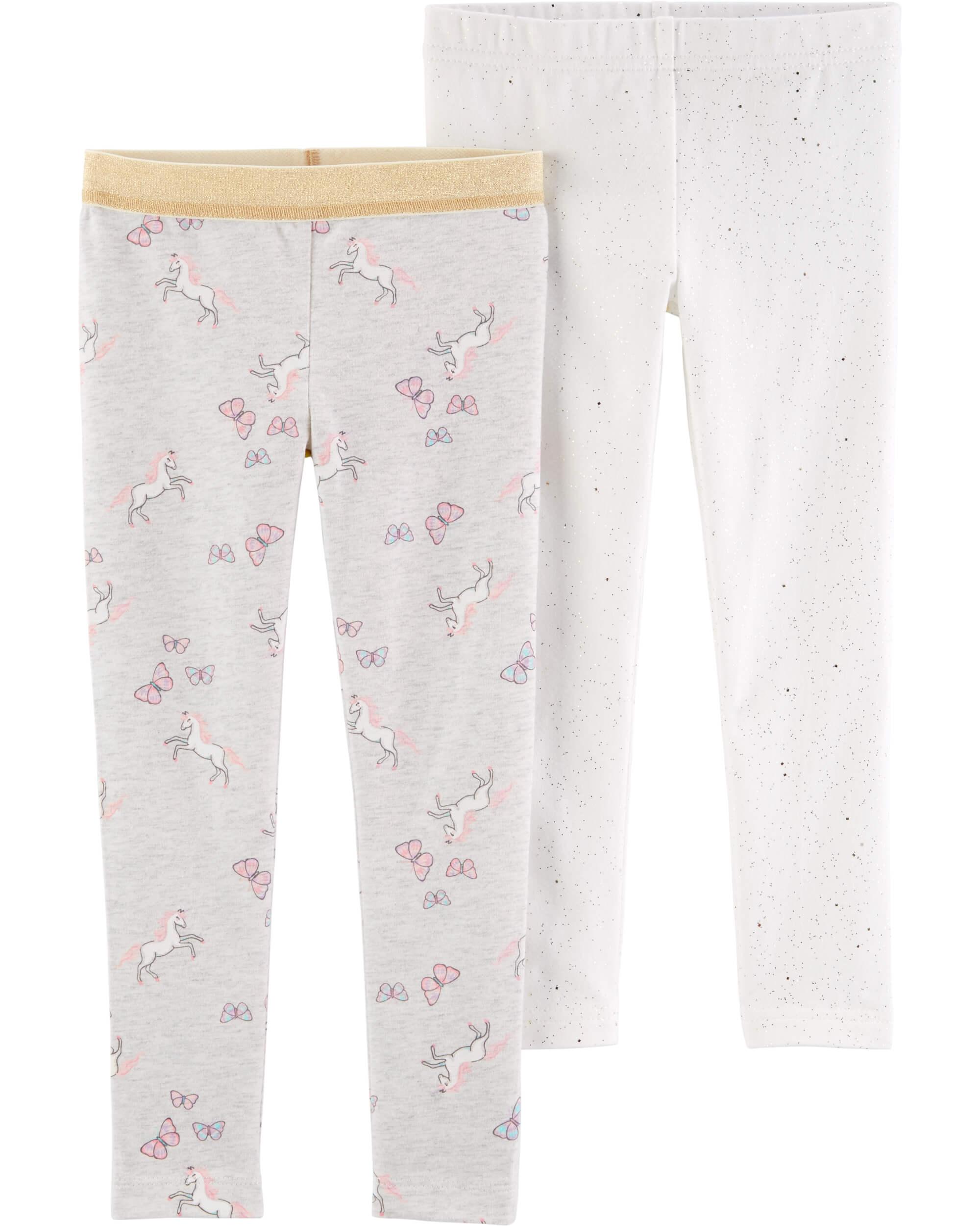 Carter's Set 2 pantaloni, unicorni imagine