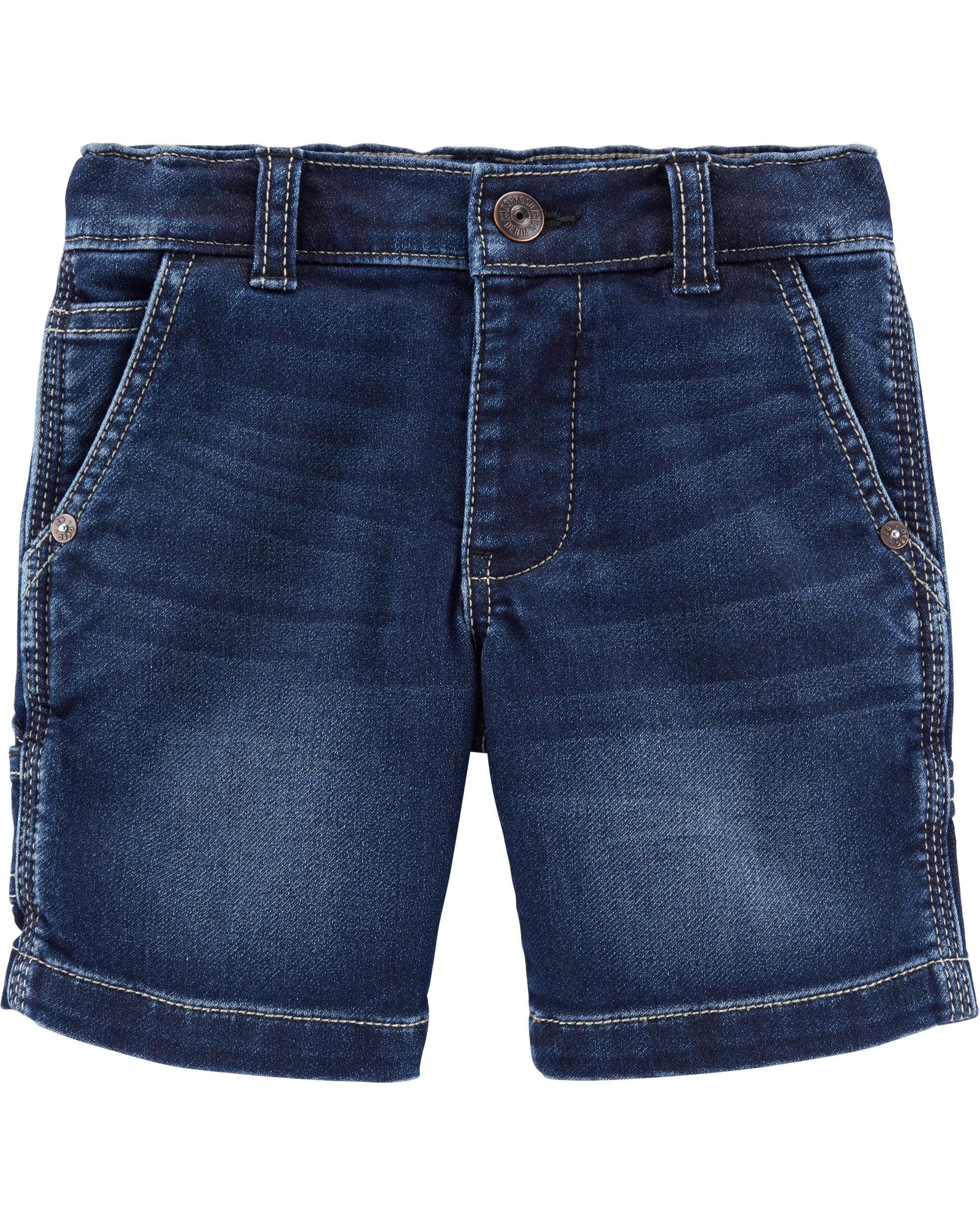 Oshkosh Pantaloni scurți denim indigo imagine