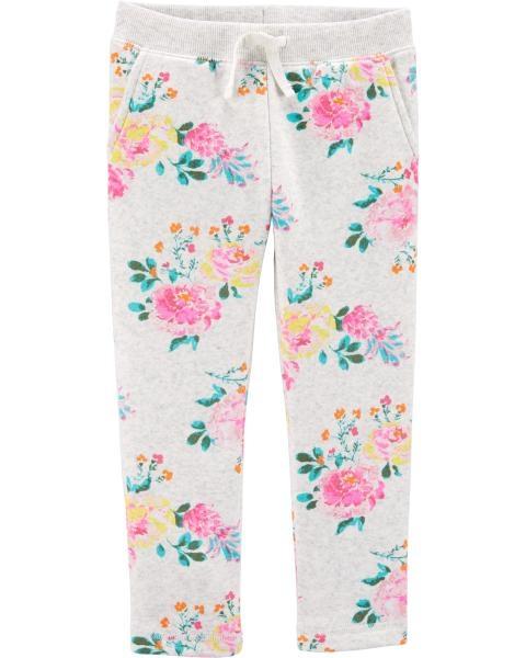 Oshkosh Pantaloni cu Flori imagine