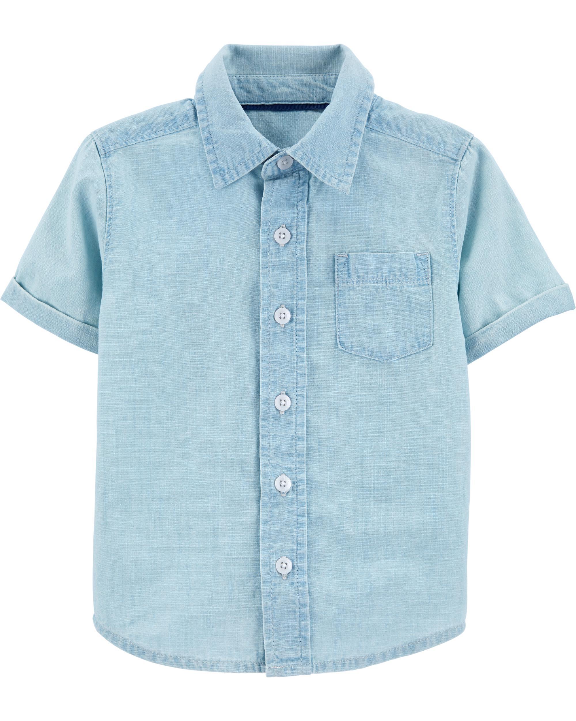 Oshkosh cămașă cu maneci scurte imagine