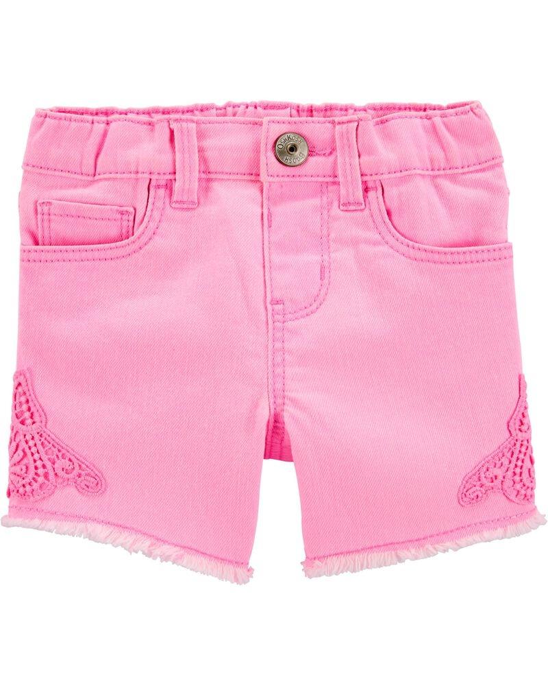 Oshkosh Pantaloni scurți Roz denim imagine