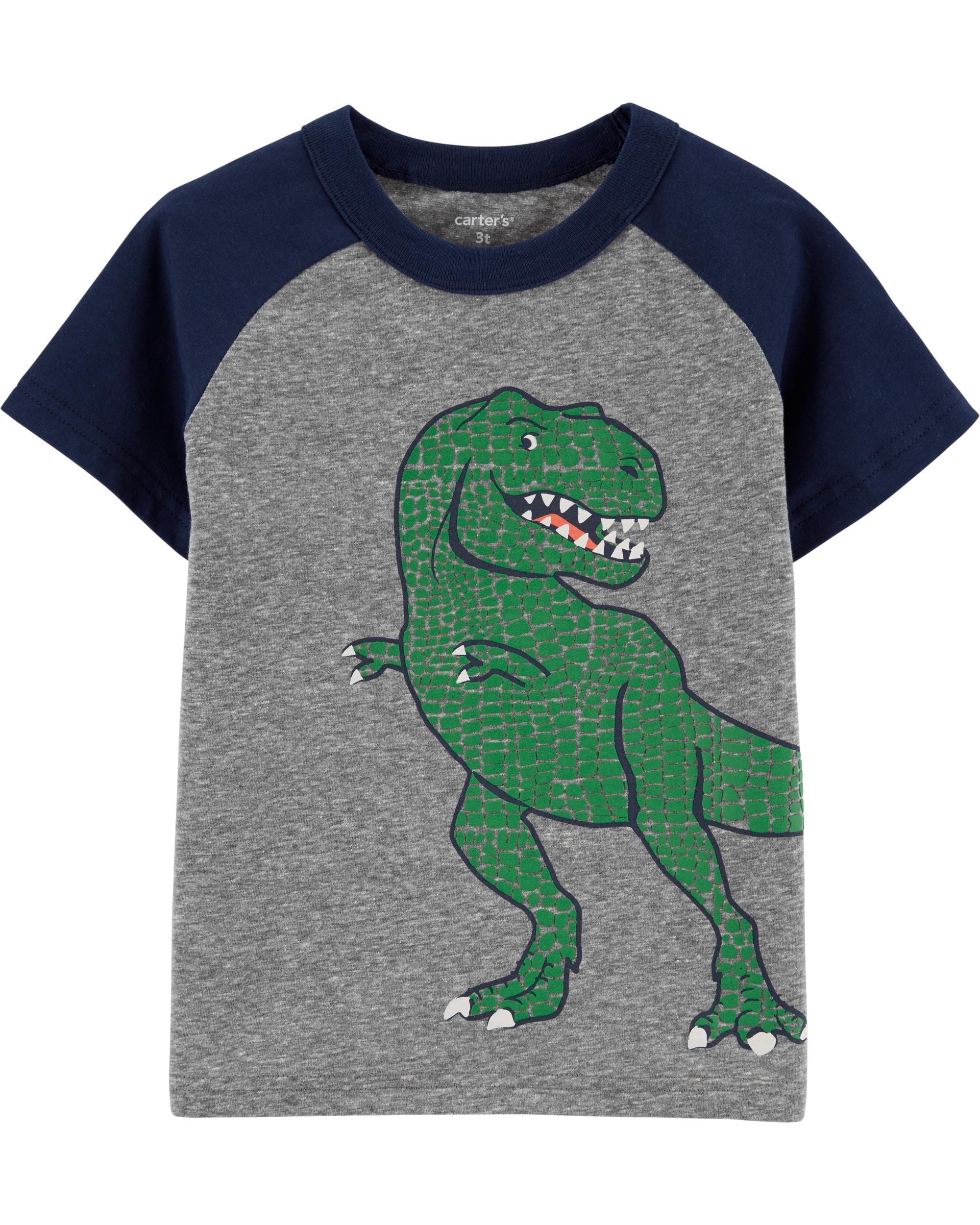 Carter's Tricou Dinozaur imagine