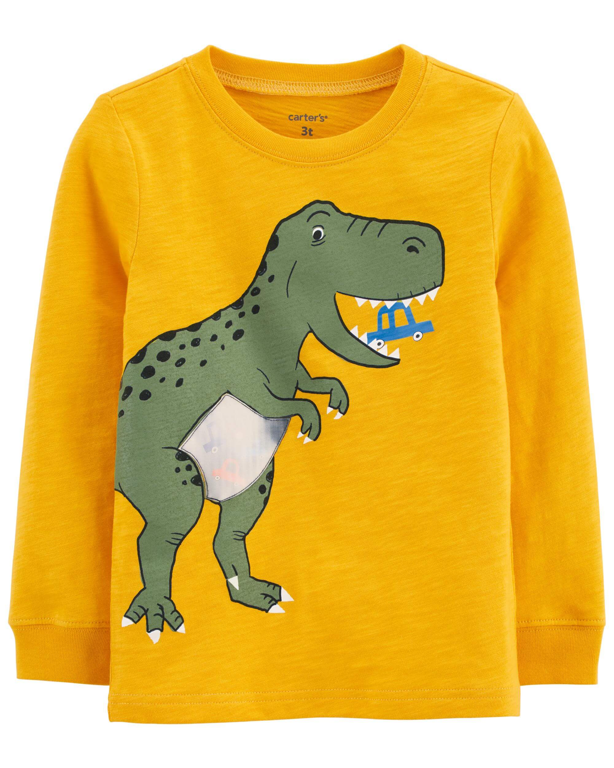 Carter's Bluza interactiva Dinozaur imagine