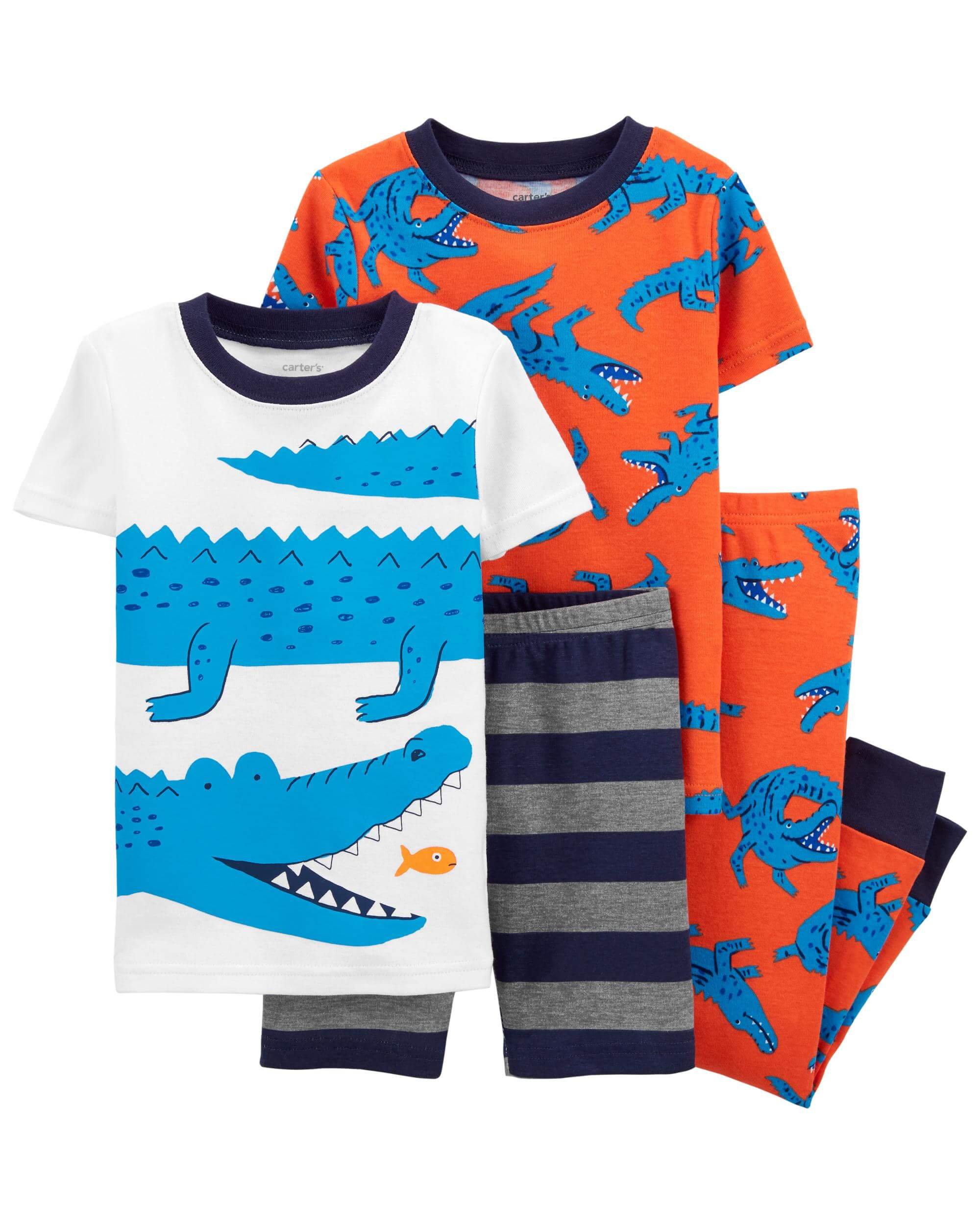 Carter's Set 2 pijamale Aligator imagine