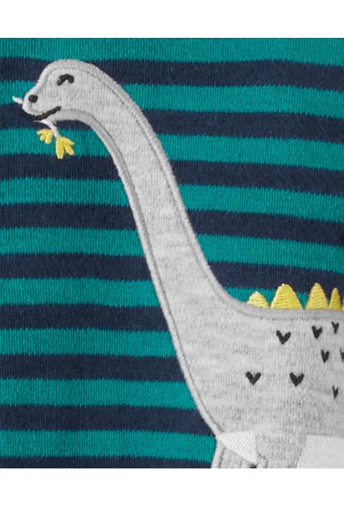 Carter's Pijama verde Dinozaur