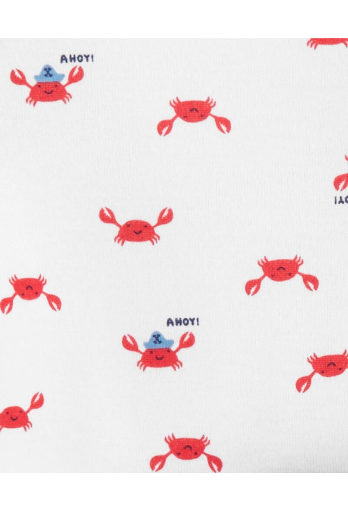 Carter's Set 3 Piese 2 body-uri & pantaloni Crab