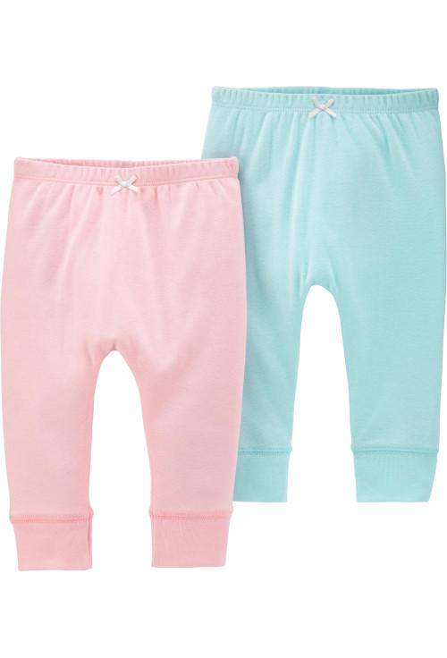 Carter's Set 2 Piese pantaloni lungi  pastel
