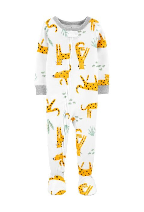 Carter's Pijama cu fermoar Leopard