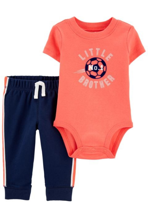 Carter's Set 2 piese body si pantaloni Little Brother