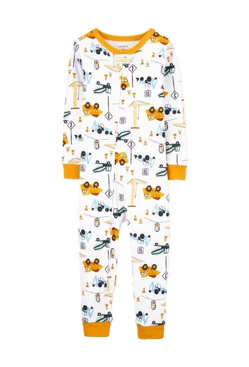 Carter's Pijama cu fermoar Constructii