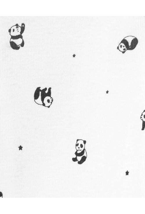 Carter's Set 3 Piese bebelus pijama body si pantaloni Panda
