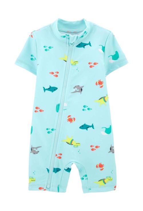 Carter's Costum de baie cu protectie solara Rechin