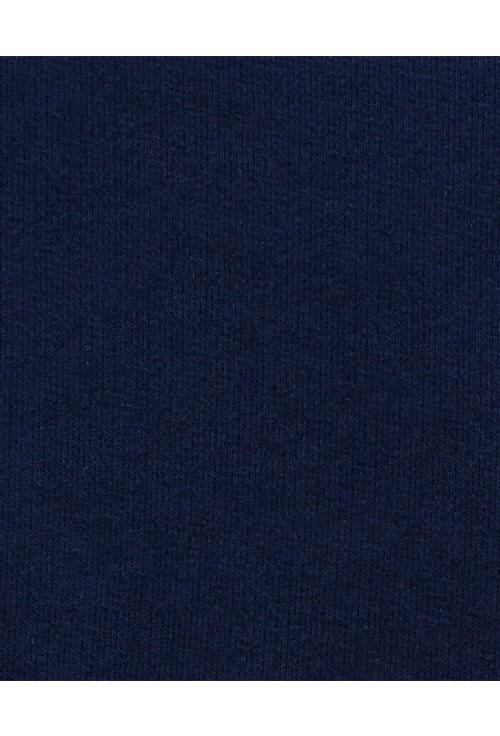 Carter's Set 2 piese tricou cu dungi si salopeta