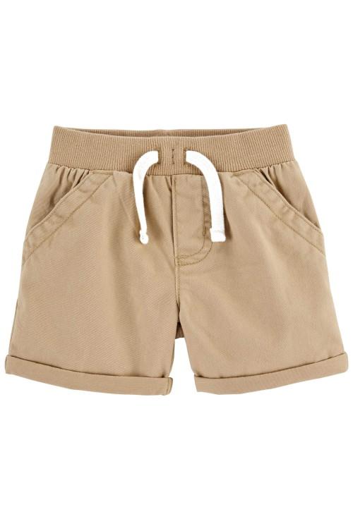 Carter's Set 3 piese tricou camasa si pantaloni scurti