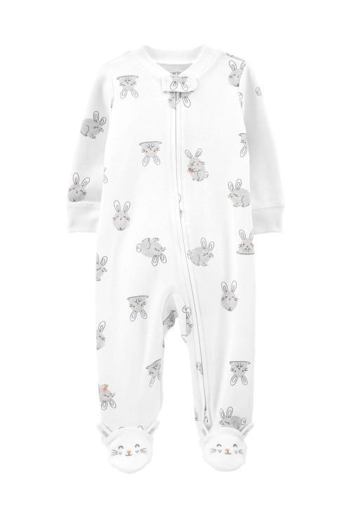 Carter's Pijama cu fermoar reversibil Iepuras