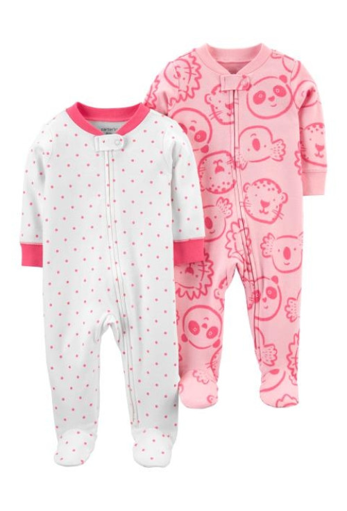 Carter's Set 2 pijamale Urs