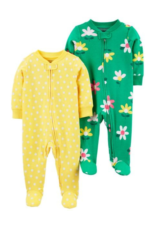 Carter's Set 2 pijamale Flori