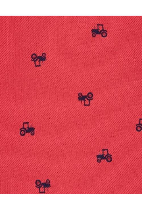 Carter's Salopeta de vara Tractor