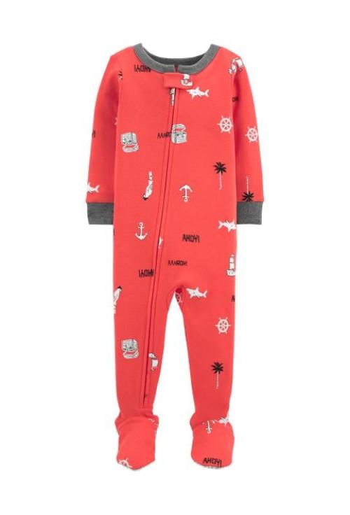 Carter's Pijama cu fermoar Ancora