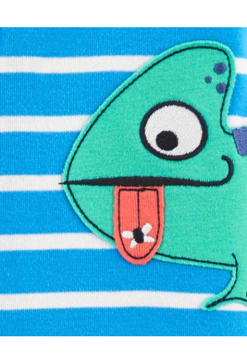 Carter's Pijama cu fermoar Cameleon