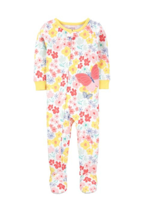 Carter's Pijama cu fermoar Fluturas