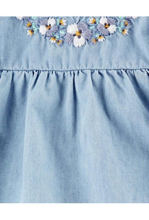 Carter'sSet 3 piese body tricou si pantaloni scurti cu dungi