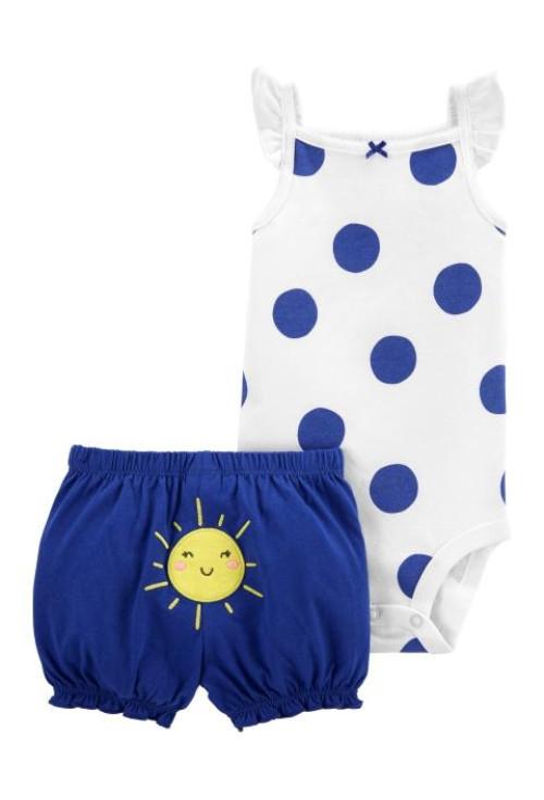 Carter's Set 2 piese body si pantaloni Soare