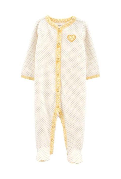 Carter's Pijama cu capse Inimioara