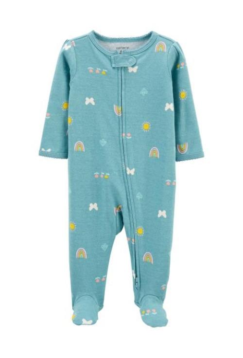 Carter's Pijama cu fermoar reversibil Curcubeu
