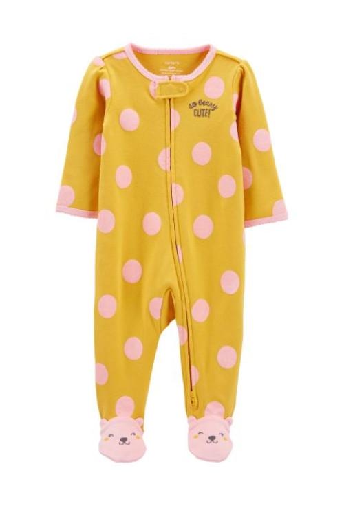 Carter's Pijama cu fermoar reversibil Ursulet