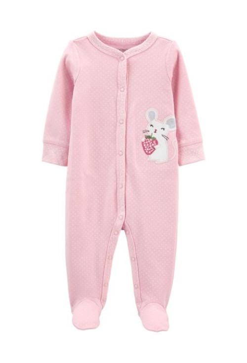 Carter's Pijama cu capse Soricel