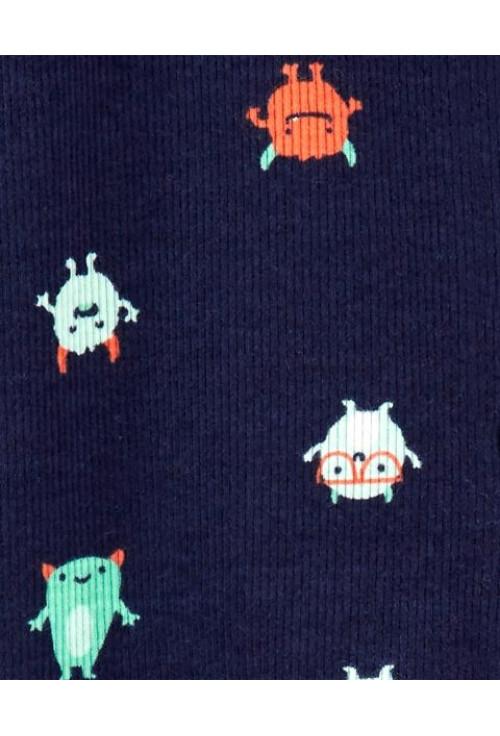 Carter's Pijama cu fermoar reversibil Monstruleti