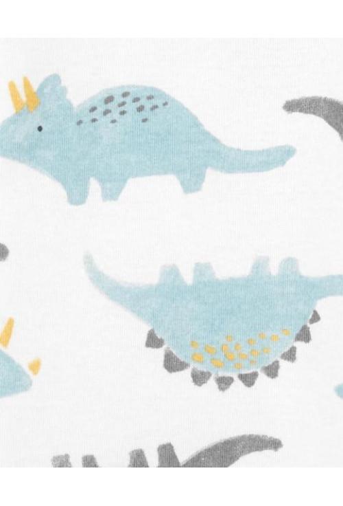 Carter's Set 3 piese hanorac body si pantaloni Dinozaur