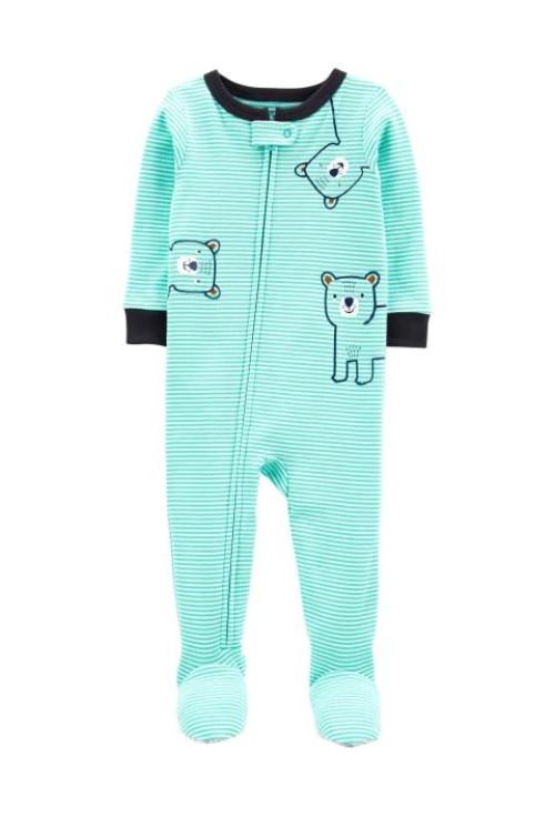 Carter's Pijama cu fermoar Ursulet
