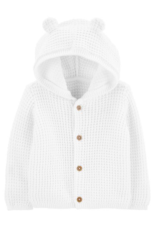 Carter's Cardigan tricotat alb