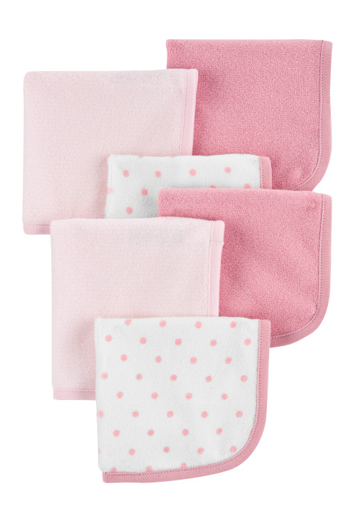 Carter's Set 6 bucati prosopel multifunctional roz