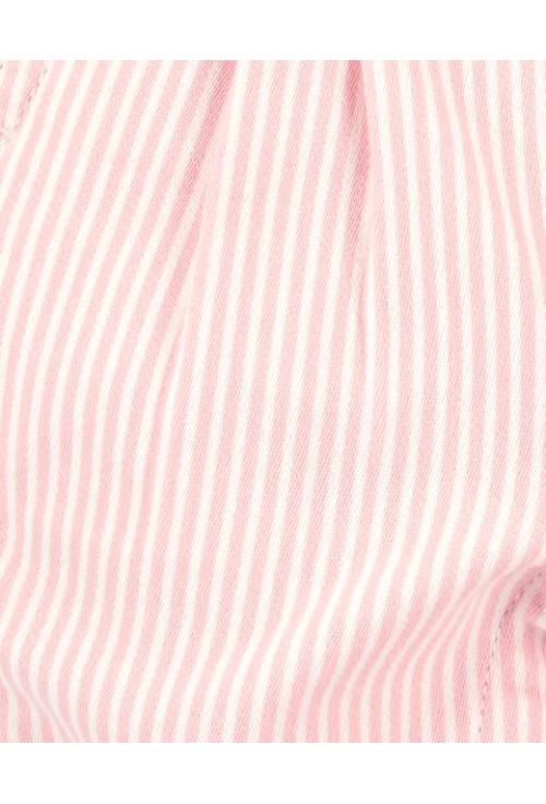 Oshkosh Salopeta denim roz cu dungi