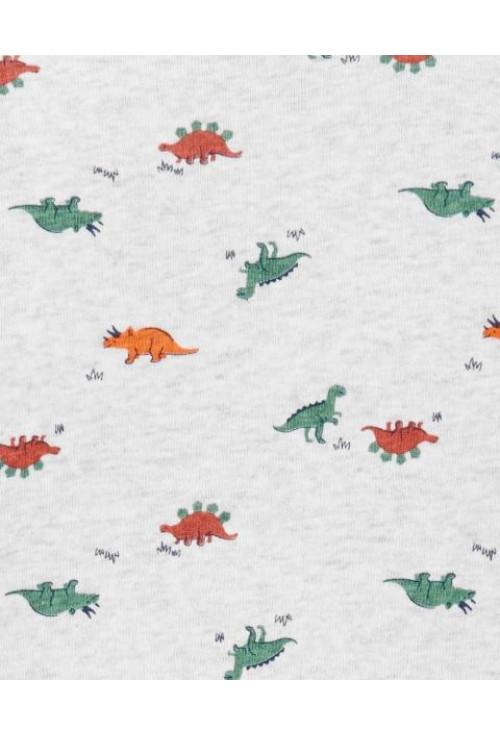 Carter's Set 3 piese vesta body si pantaloni Dinozauri