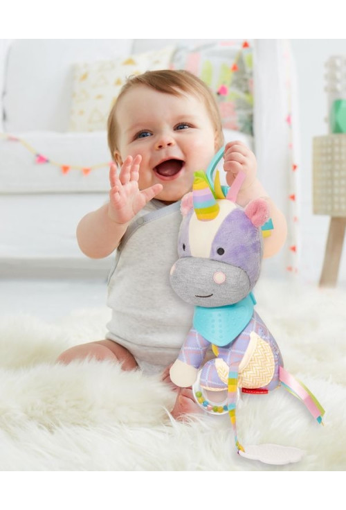 Skip Hop Jucarie de activitati Unicorn - Bandana Buddies
