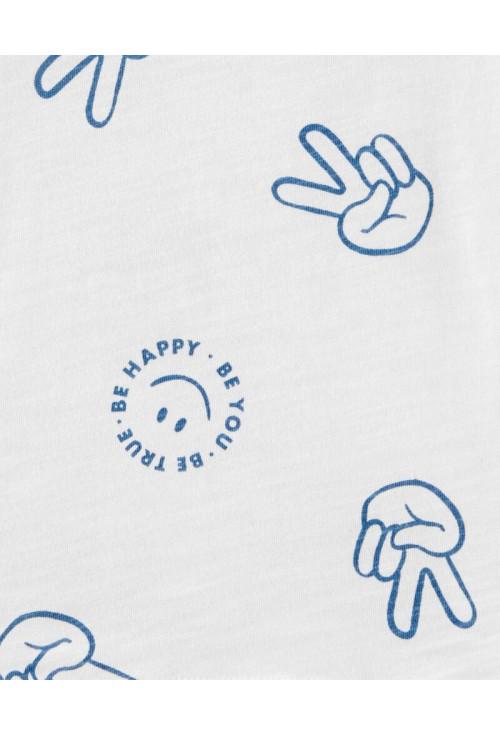 "Oshkosh Tricou ""Be Happy"""