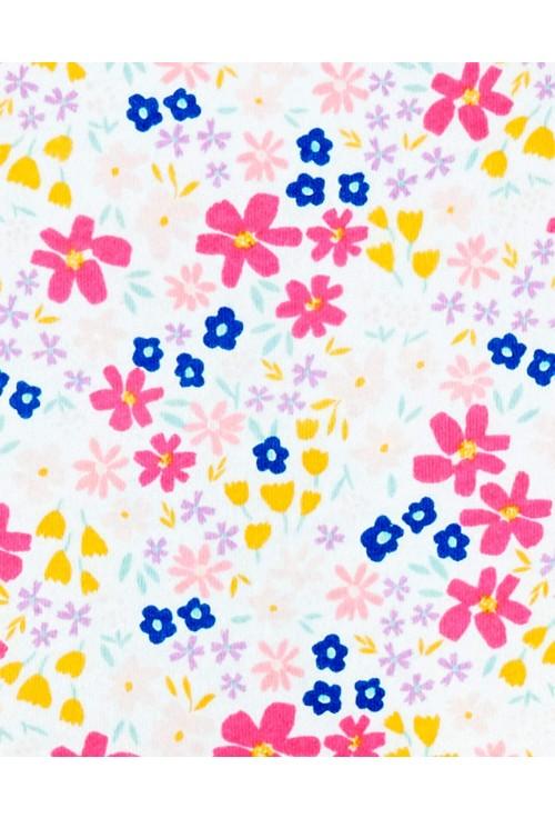 Carter's Set 2 rochite flori dungi