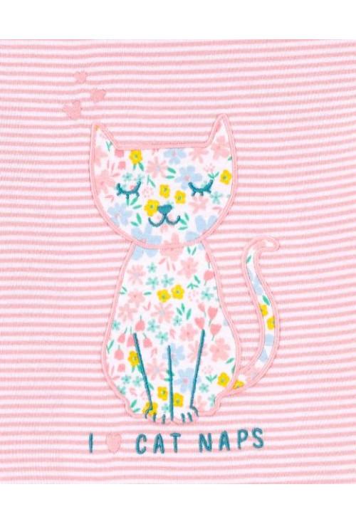 Carter's Set 2 pijamale Pisica