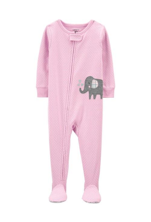 Carter's Pijama cu fermoar Elefant