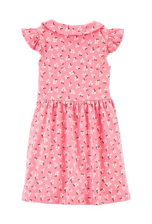 Carter's Rochie tip camasa roz