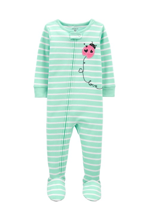 Carter's Pijama verde Buburuza